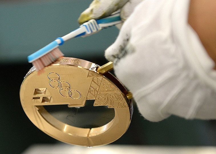 Медали сочи 2018